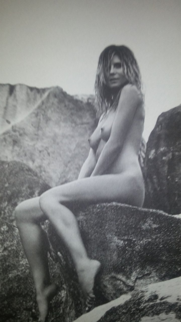 Heidi klum nude wet please the