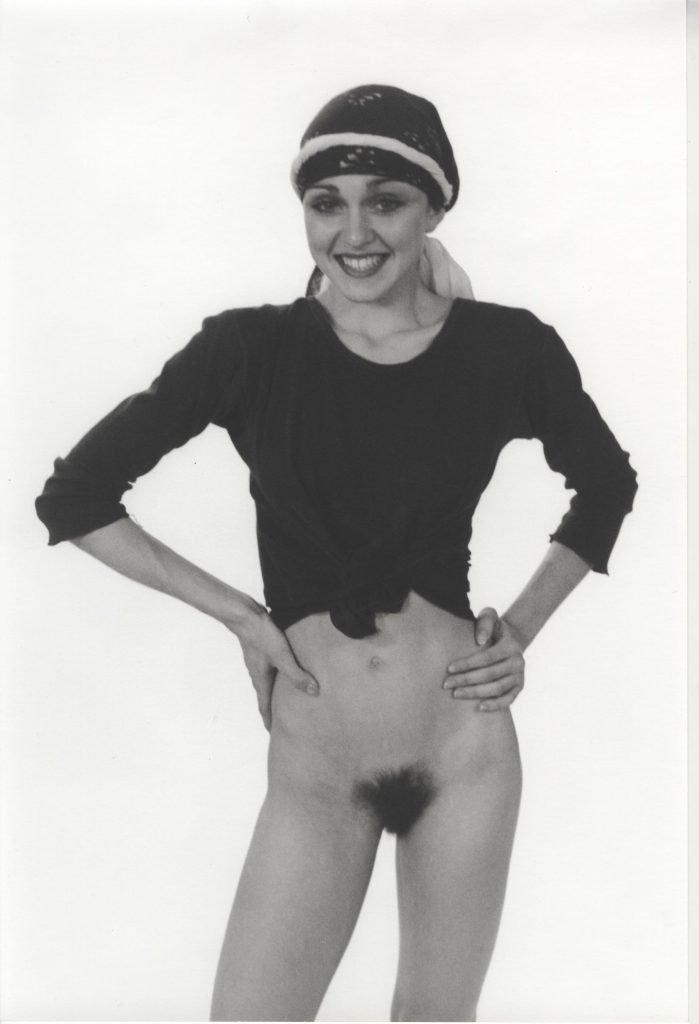 nude madonna photo auction