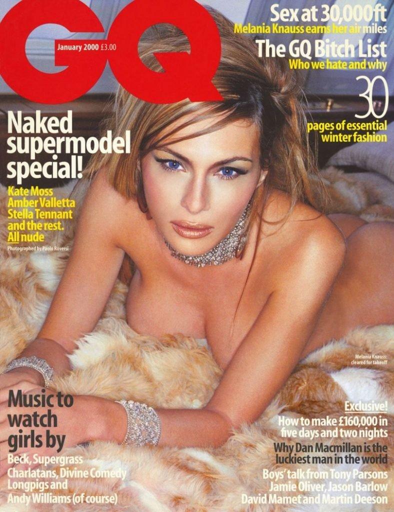 Melania Trump Nude & Sexy (6 Photos)