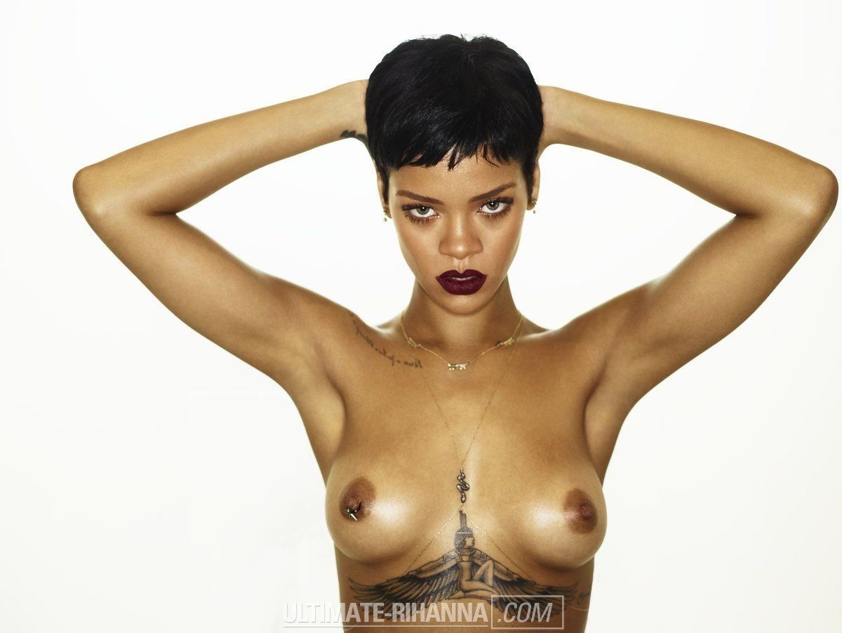 Naked pics of rhianna consider, that