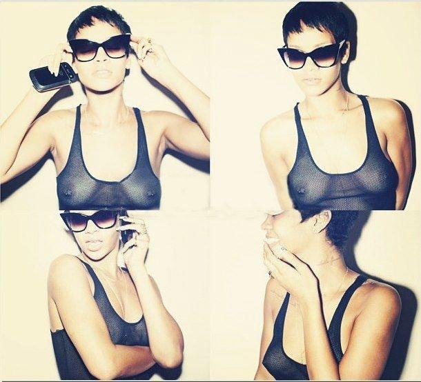 Rihanna Topless & Sexy (46 Photos + Video)