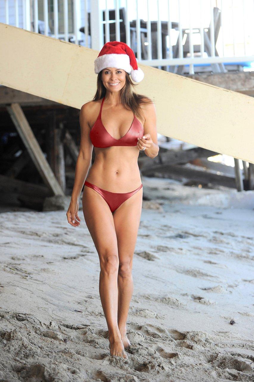 Brooke burke chain bikini