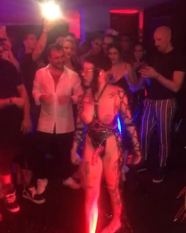 Brooke Candy Topless (16 Pics + Video)