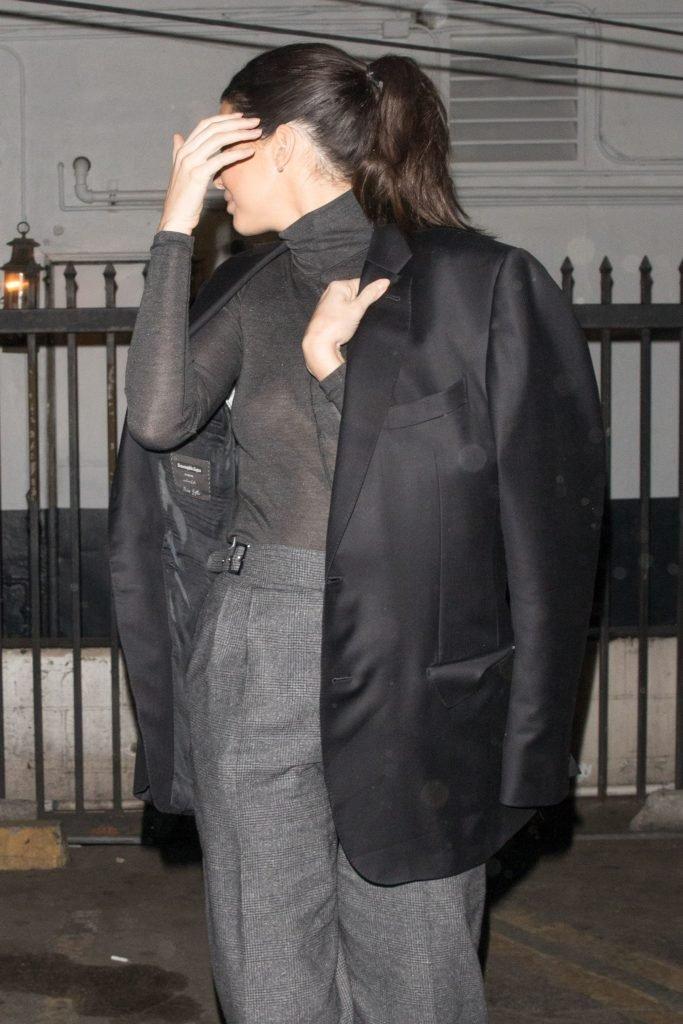 Kendall Jenner See Through (14 Photos)