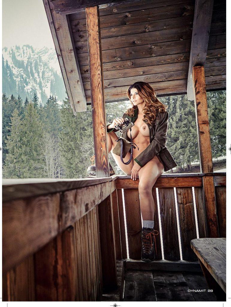 Micaela Schäfer Nude (8 New Photos)