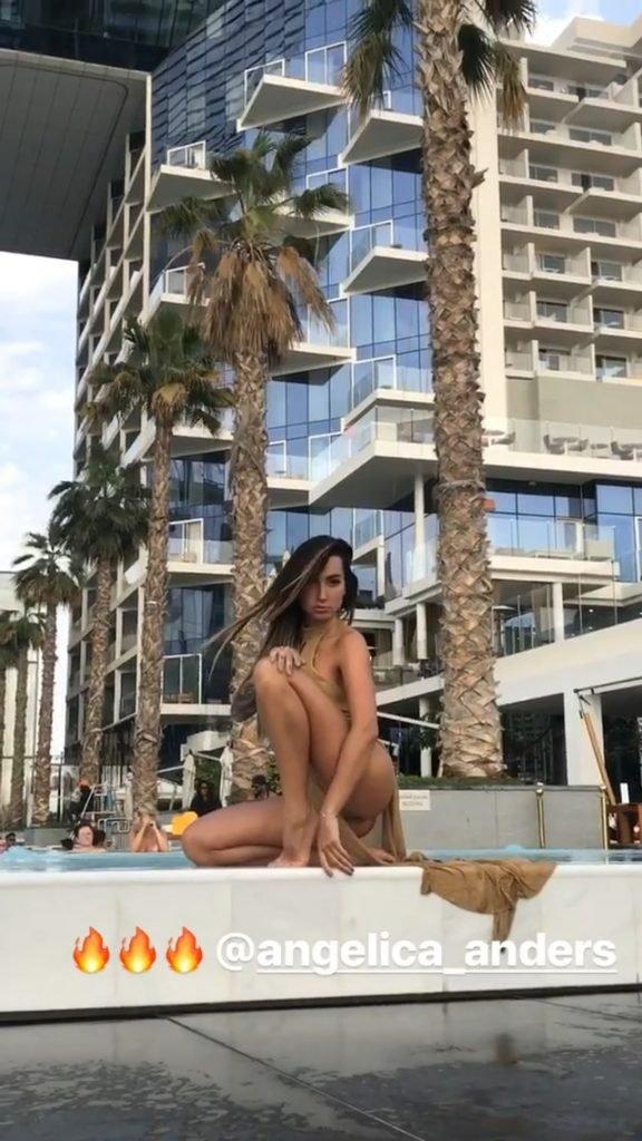 Angelica Anderson Sexy (14 Pics + Gif & Video)