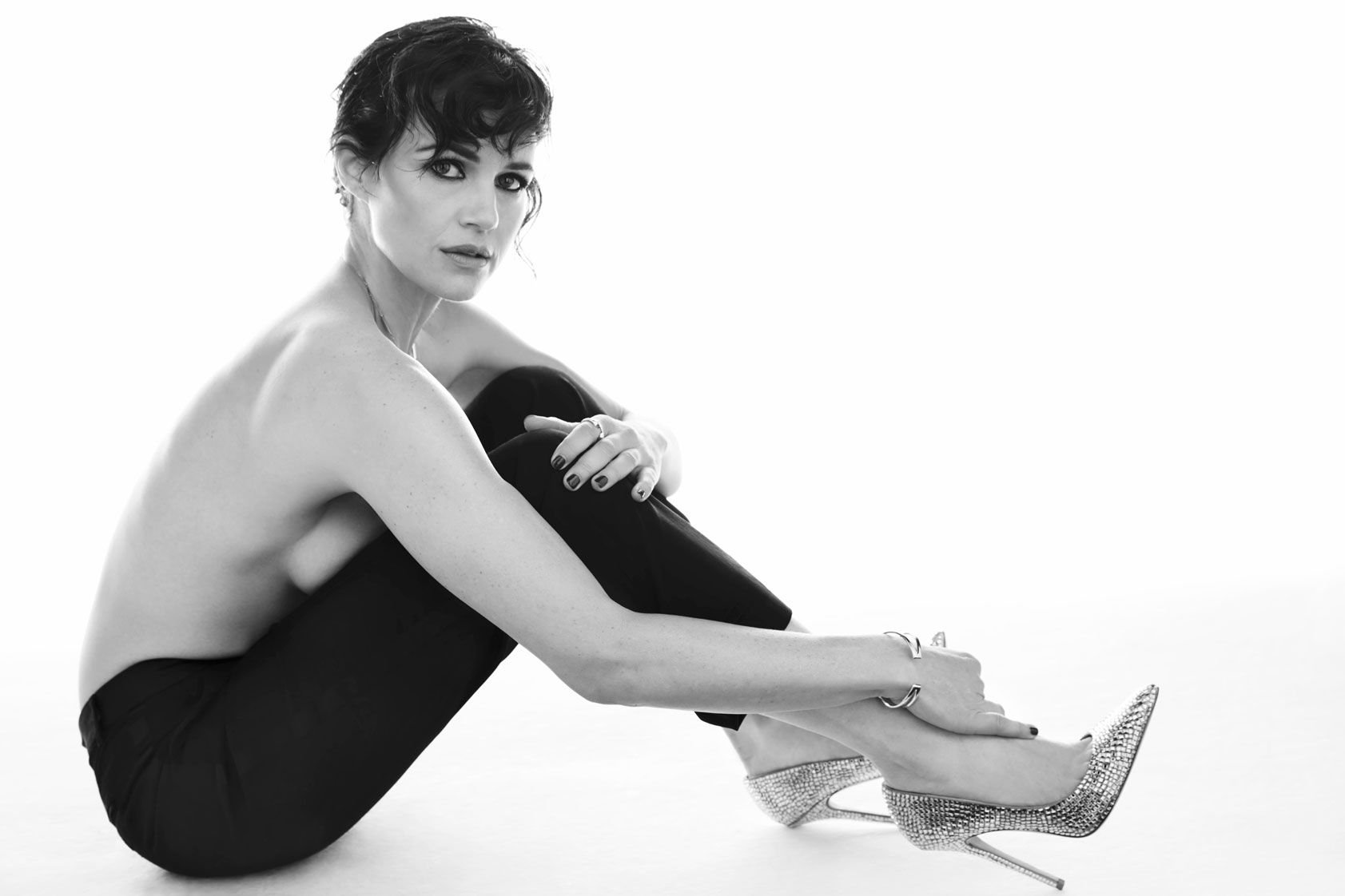Carla Gugino Sexy & Topless (7 Photos) | #TheFappening