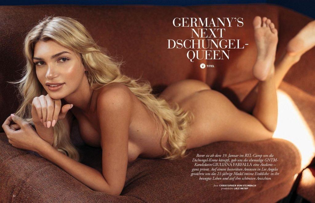 Giuliana Farfalla Nude (12 Photos + Video)