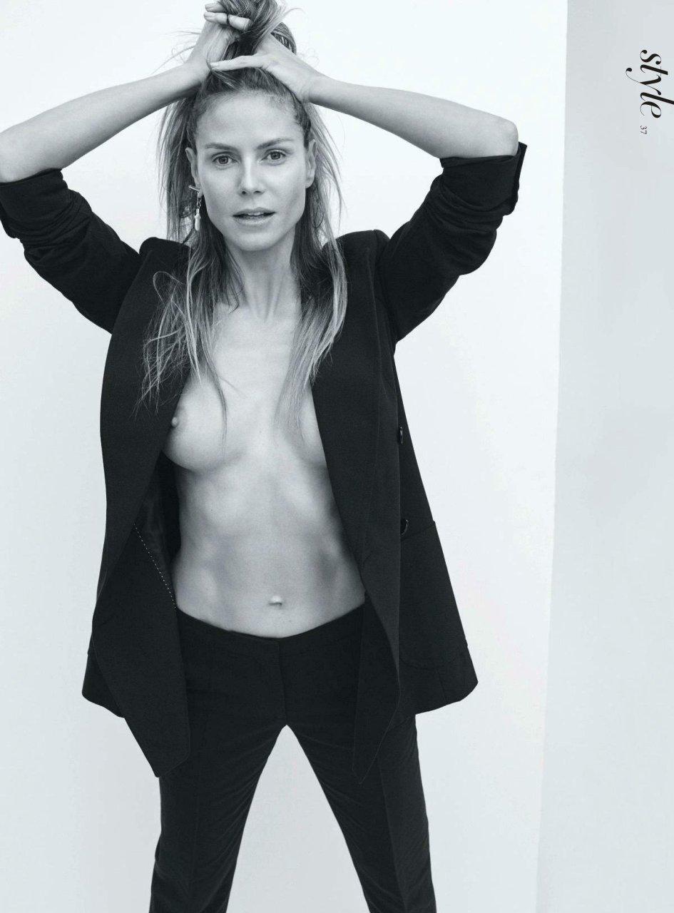 Ass.... Heidi klum nud