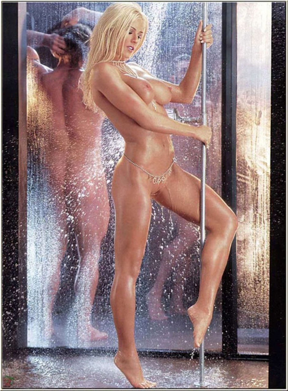 Period fetish naked women
