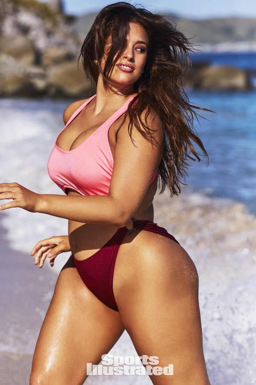 Plus size sports illustrated swimsuit model thank