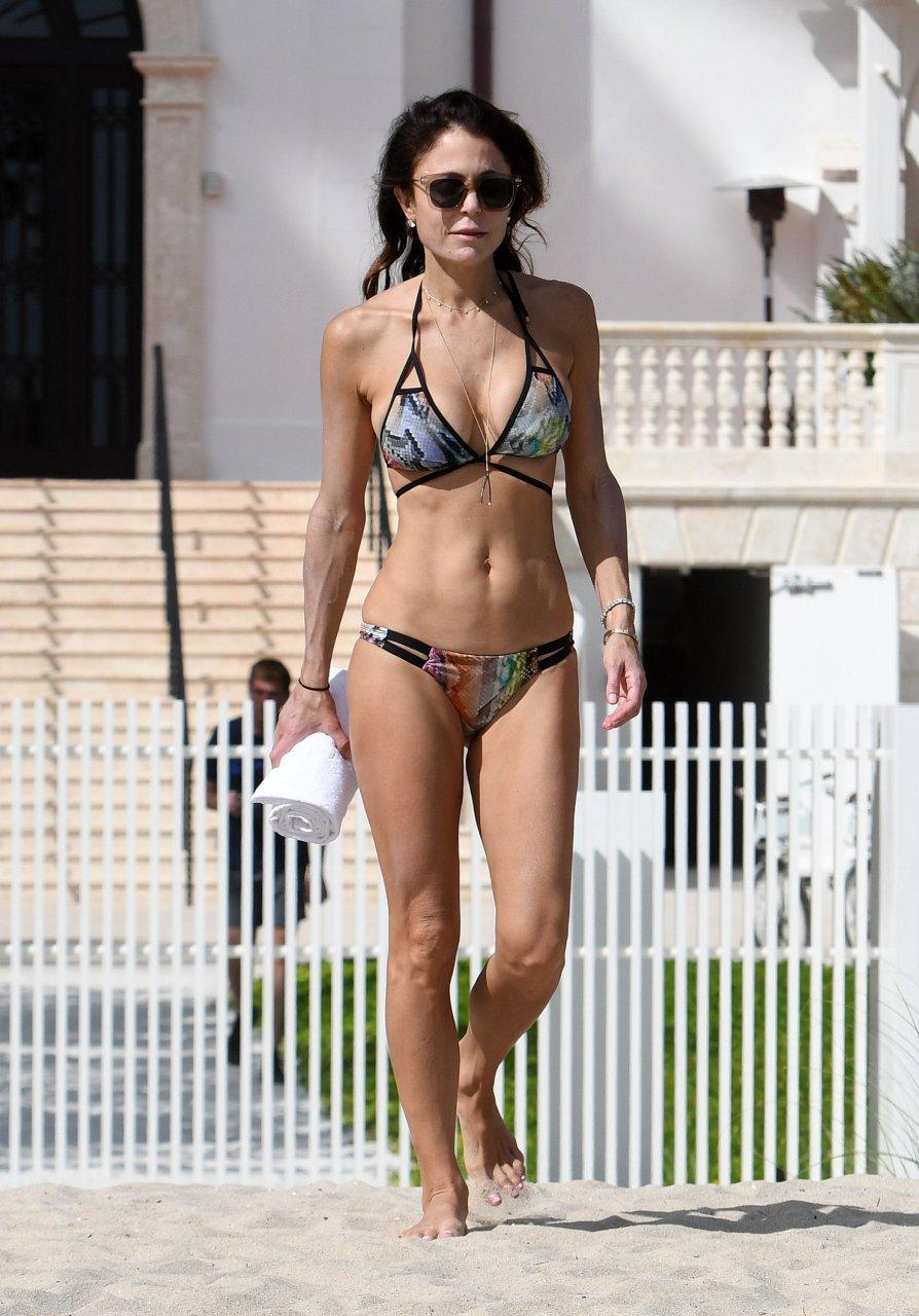Bethenny Frankel Wears Sexy, Red Hot Bikini, Hot Body
