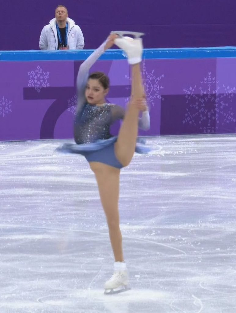 Evgenia Medvedeva Upskirt (10 Photos + Gifs & Video)