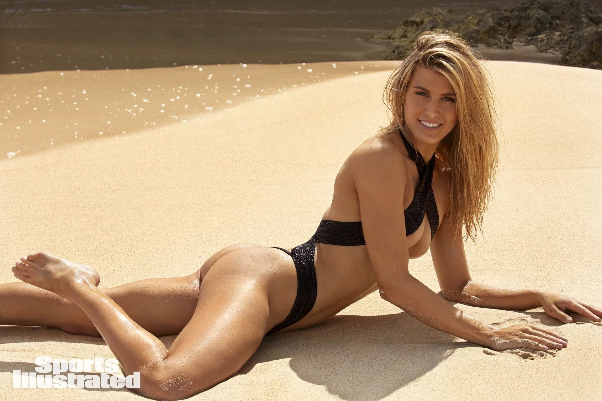 Genie Bouchard - 2018 Sports Illustrated Swimsuit Issue