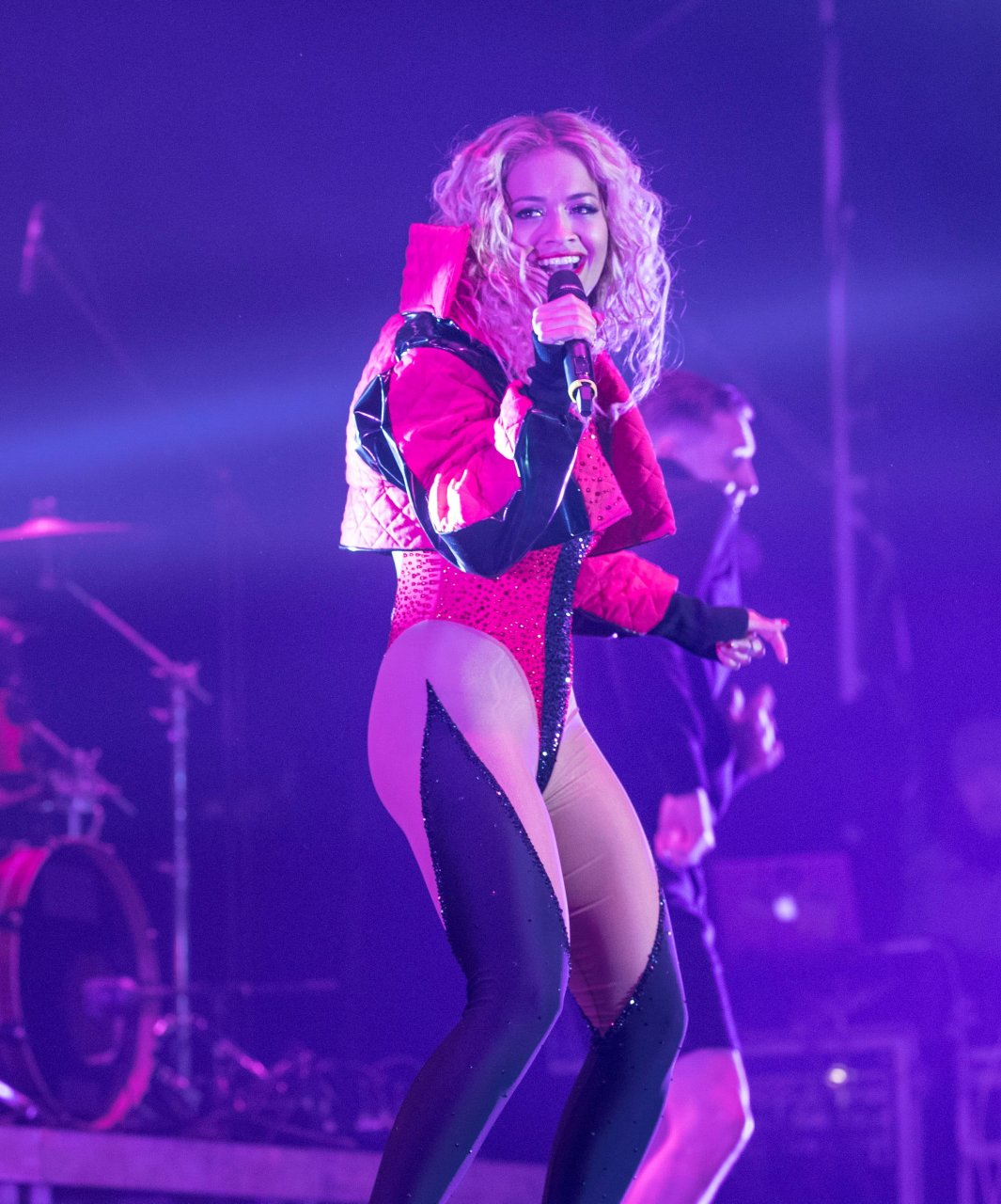 Rita Ora – performs at the Kosovo Independence celebrations in Pristina 02/17/2018