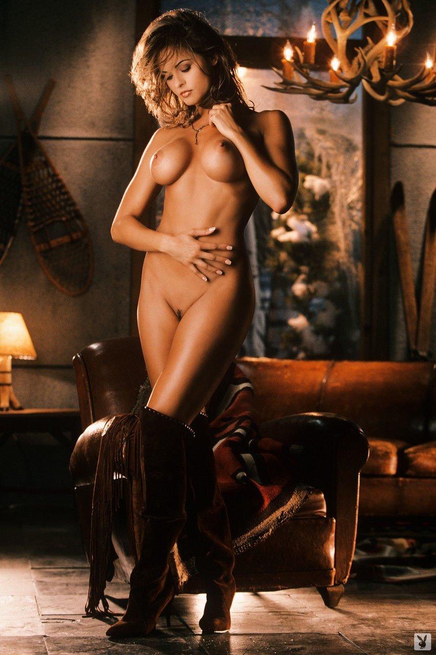Nude girl and boy