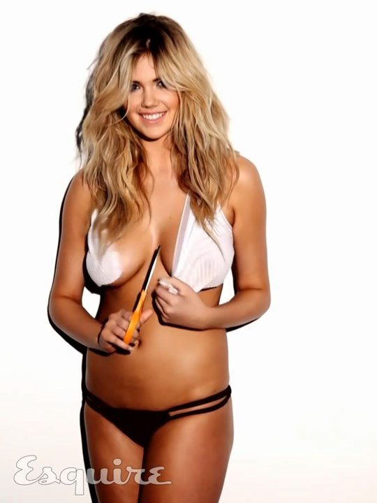 Kate Upton Sexy & Topless (16 Pics + Gifs & Video)