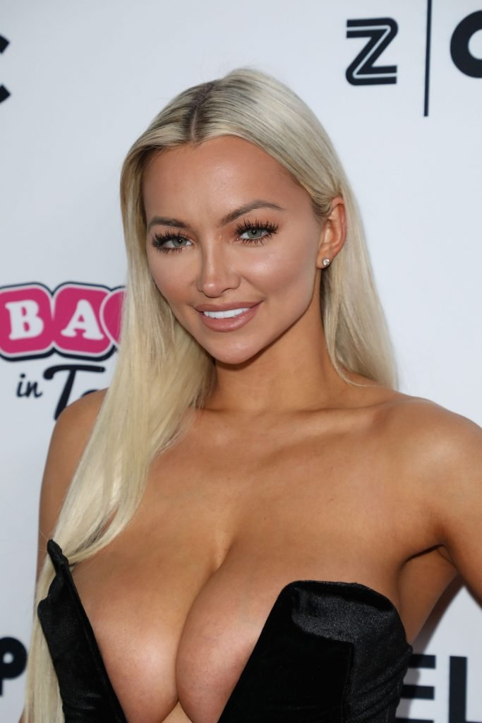 Lindsey Pelas Shows Off Her Huge Boobs For All (41 Photos + Gifs & Video)