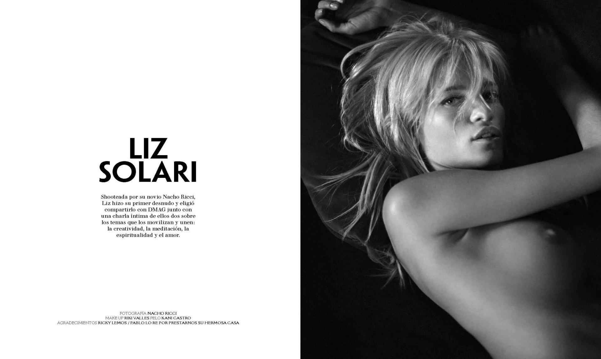Solari  nackt Liz Liz Solari