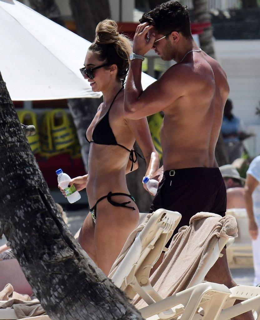 Megan McKenna Flaunts Her Sexy Body In Barbados (54 Photos + Gif)