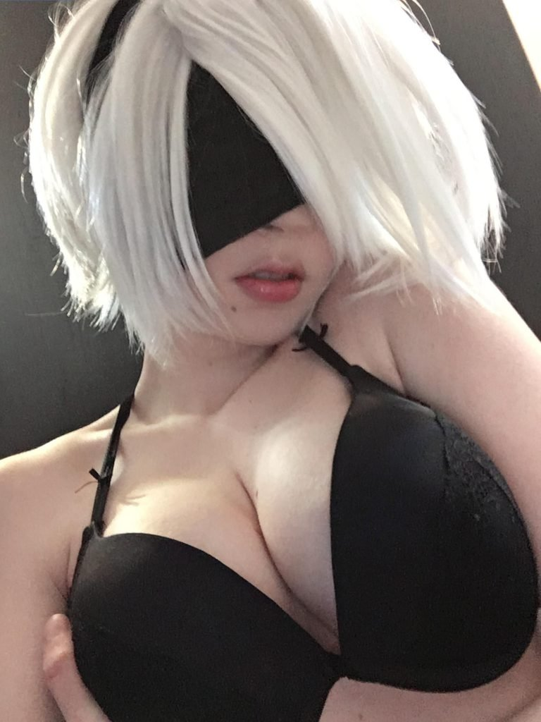Cosplayer 2B (Shinuki) Nude & Sexy (100 Photos + Gifs) | #