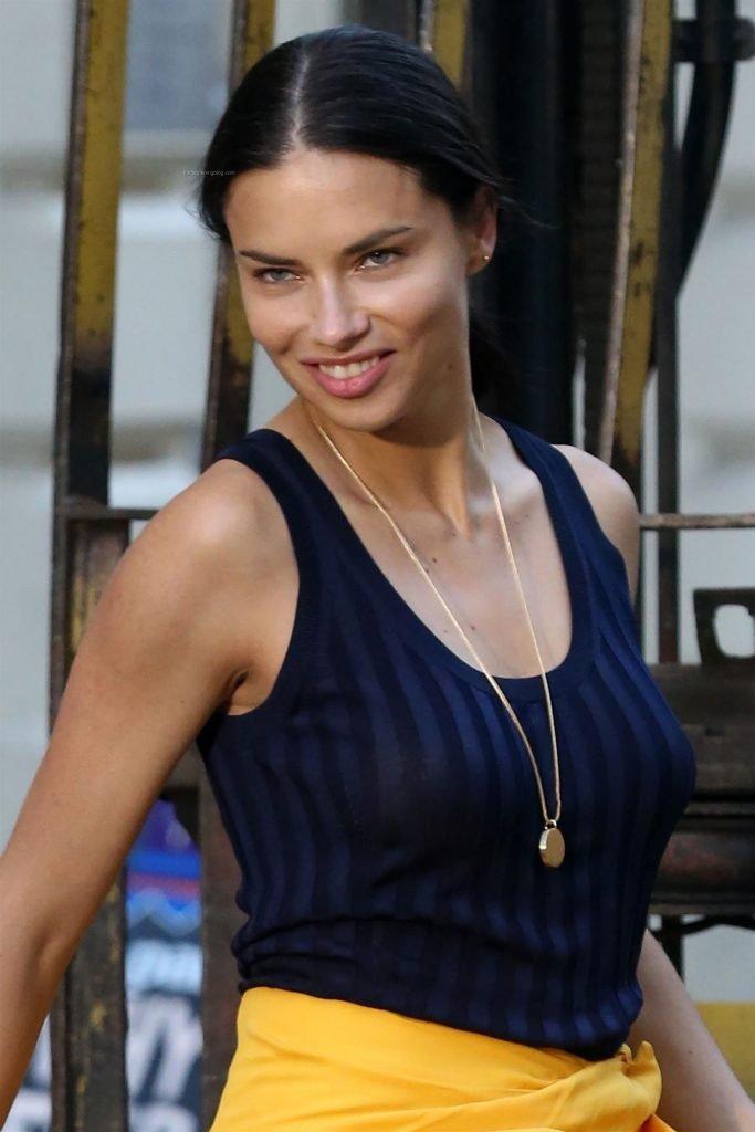 Adriana Lima See Through (48 Photos + Video)