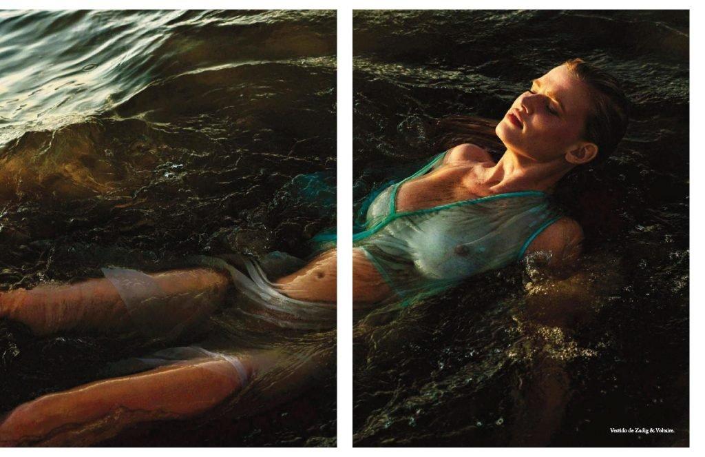 Lara Stone Sexy & Topless (14 Photos)