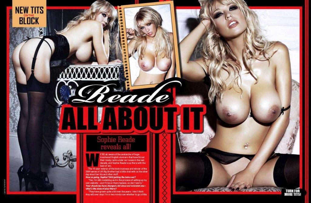 Sophie Reade Nude & Sexy (3 Photos)