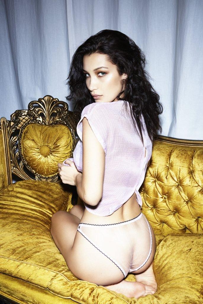 Bella Hadid Sexy & Topless (10 Photos)