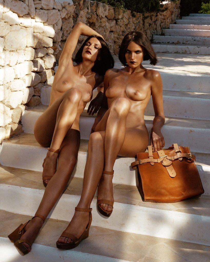 Missy Rayder, Diana Dondoe Naked (9 Photos)