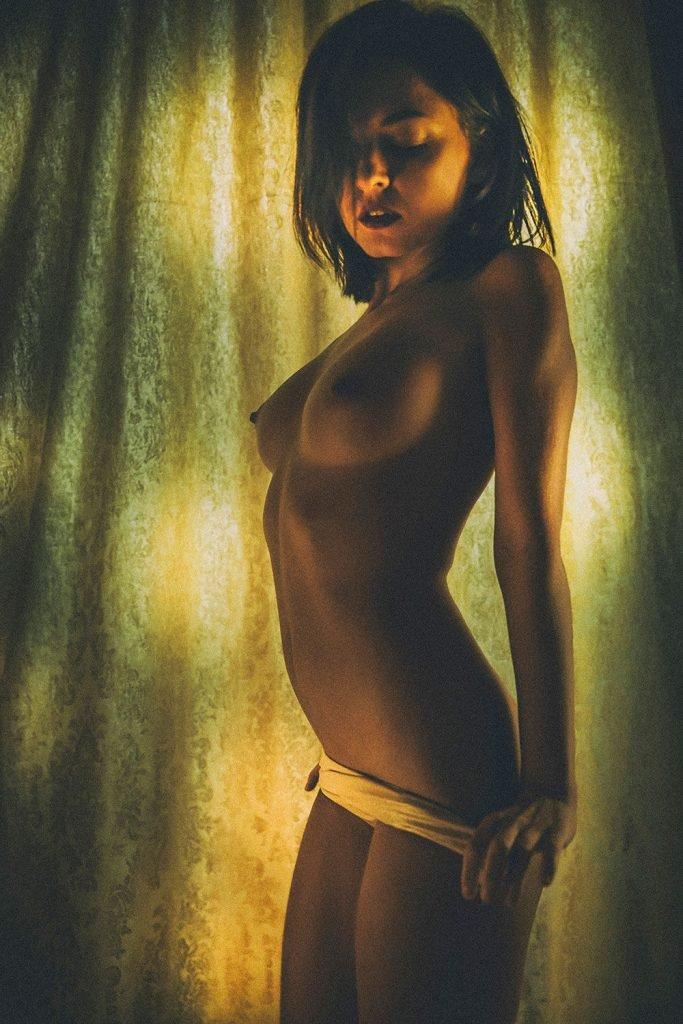 Anastasiia Poranko Topless
