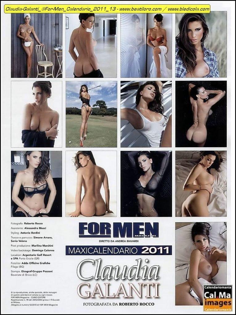 Claudia Galanti Nude (11 Photos)