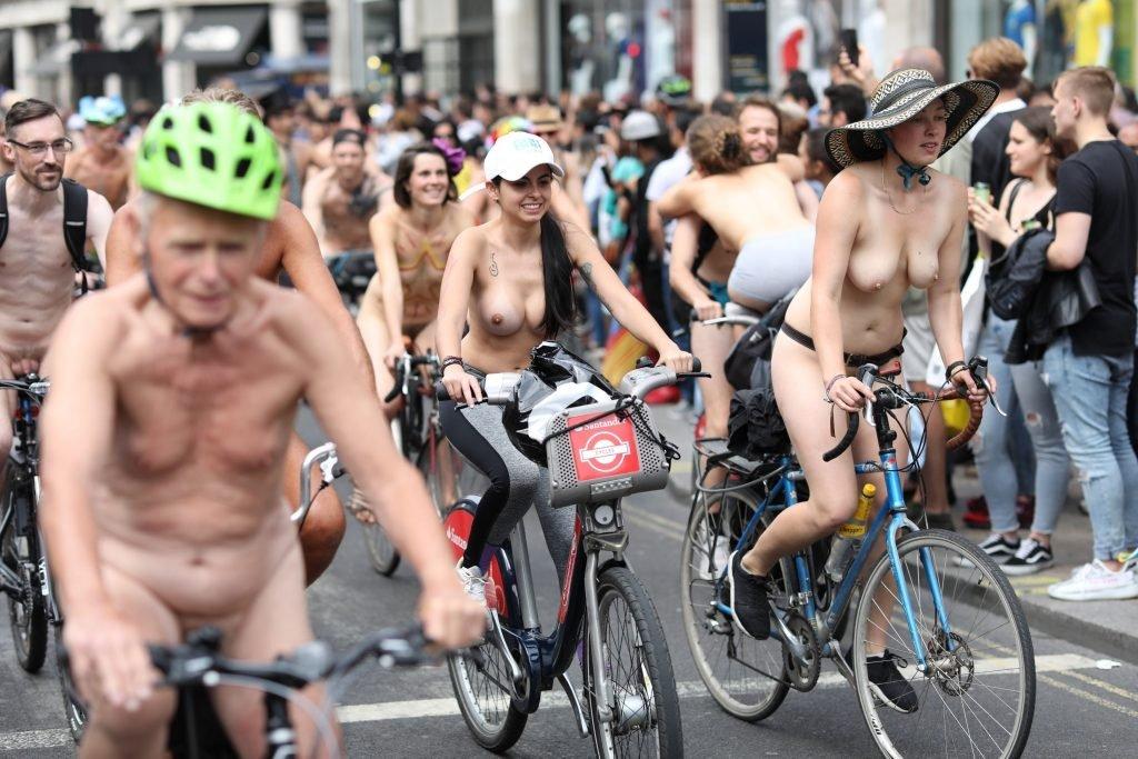 National nude bike ride photos