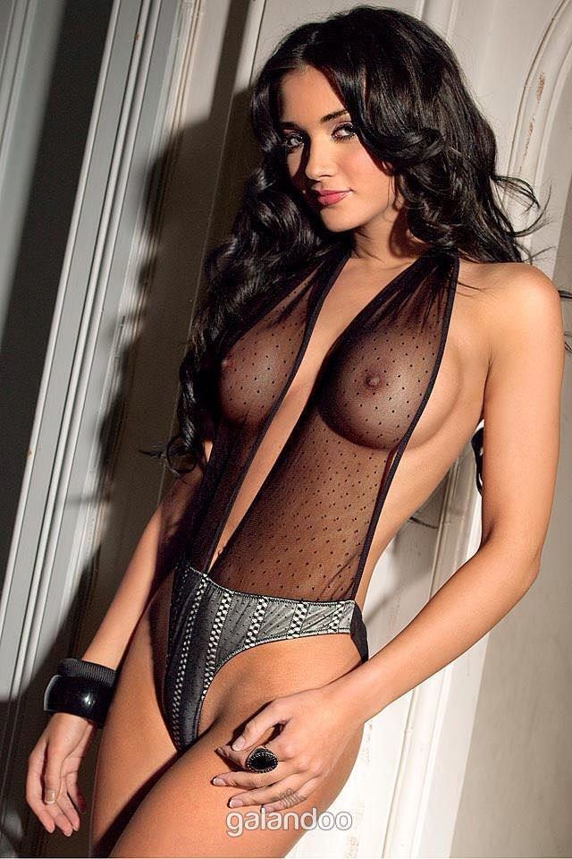 Girl with big nipples