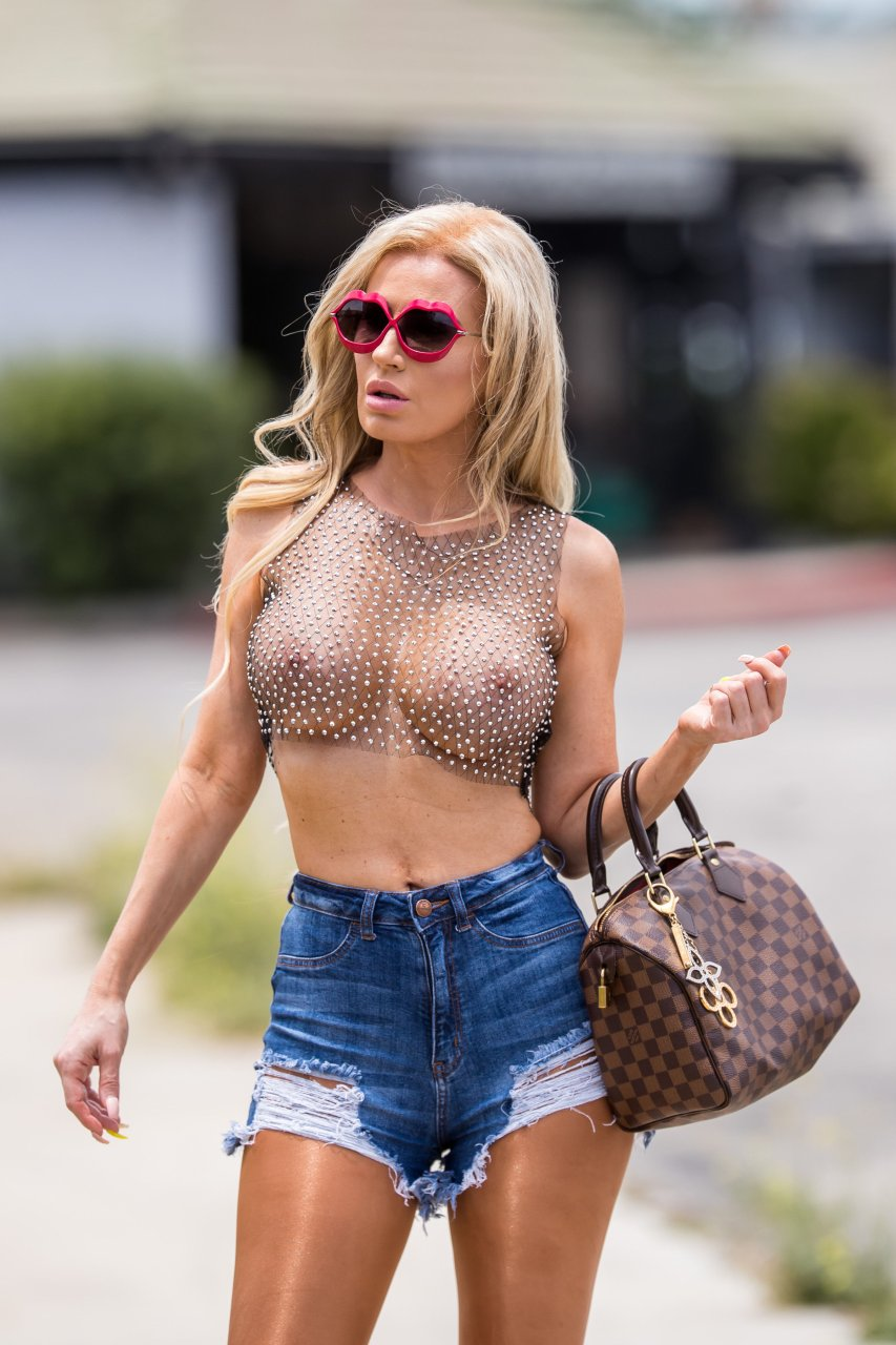 Sexy see through tops