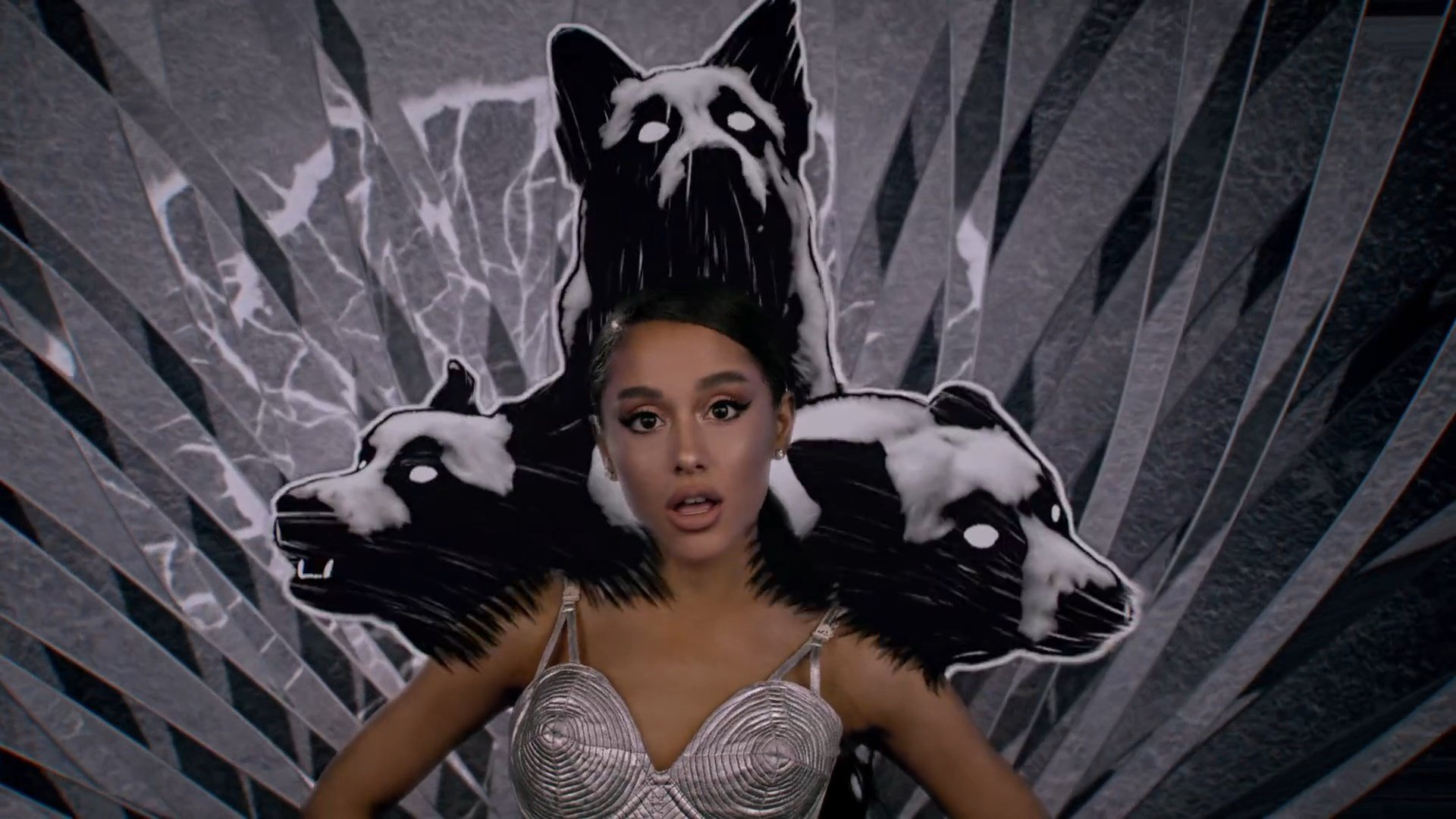 Ariana Grande Sexy In The Premiere 2020 Video Positions