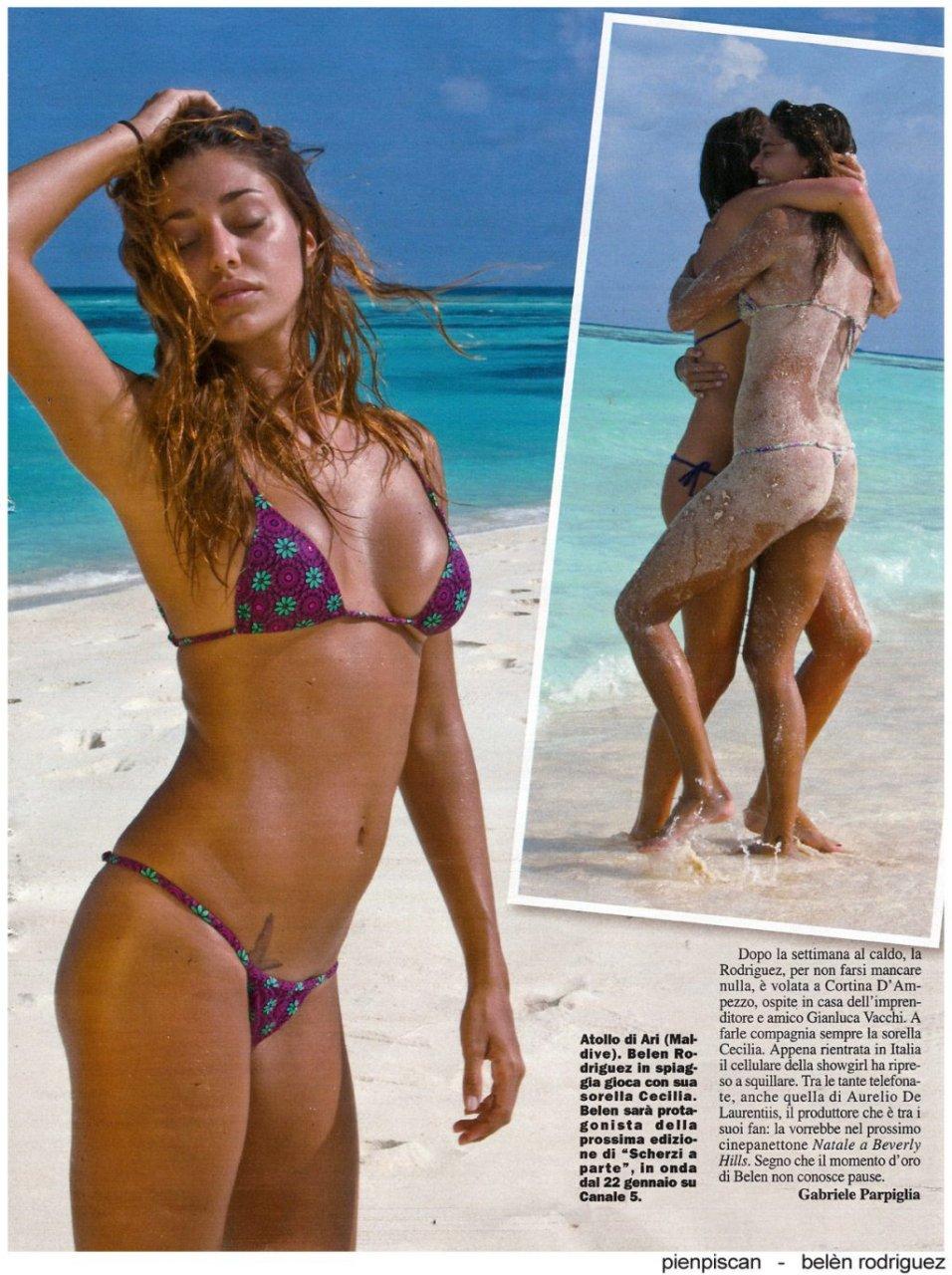 Belen rodriguez sex bikini nude blogspot