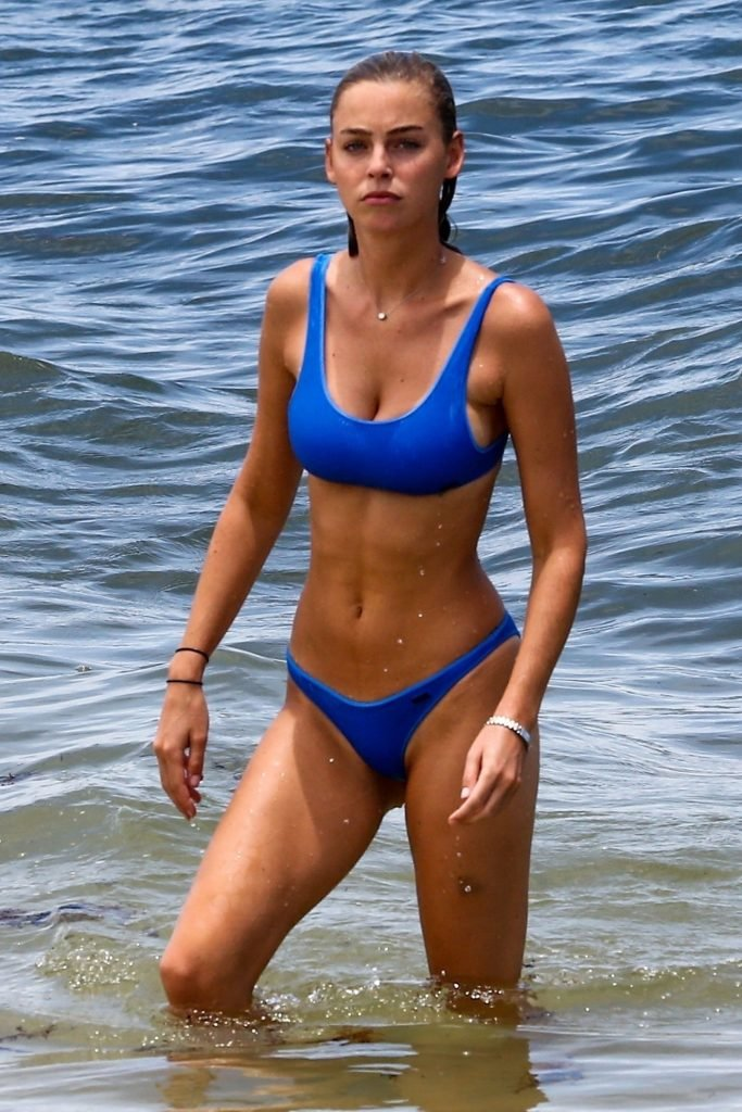 Blake nude amanda bikini