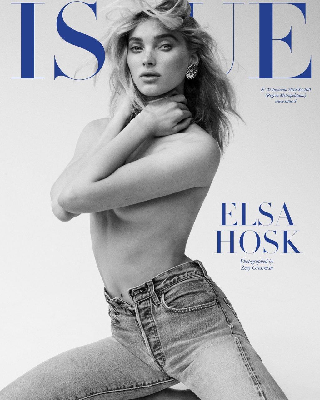 Elsa Hosk Sexy & Topless (20 Photos)