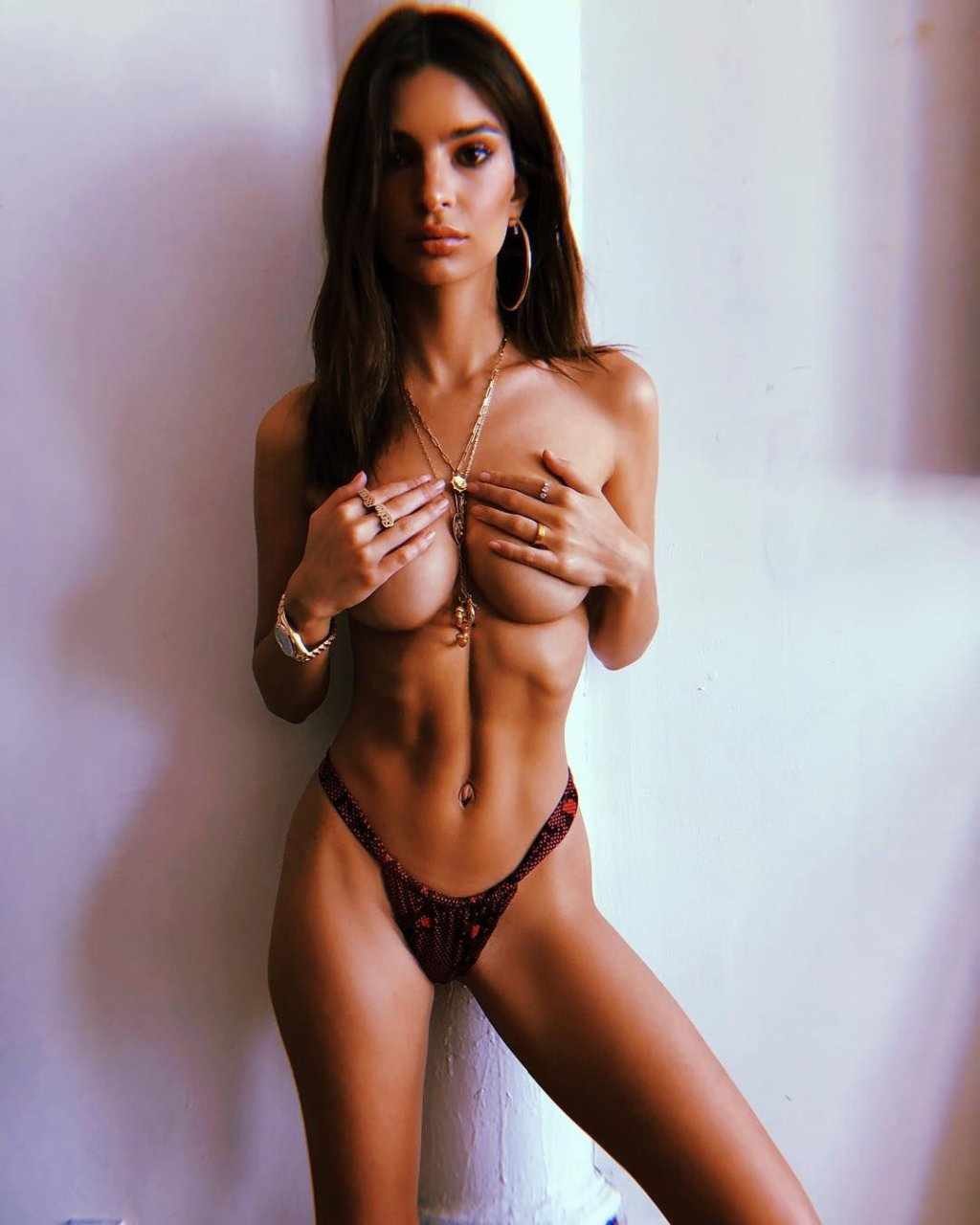 Naked models instagram