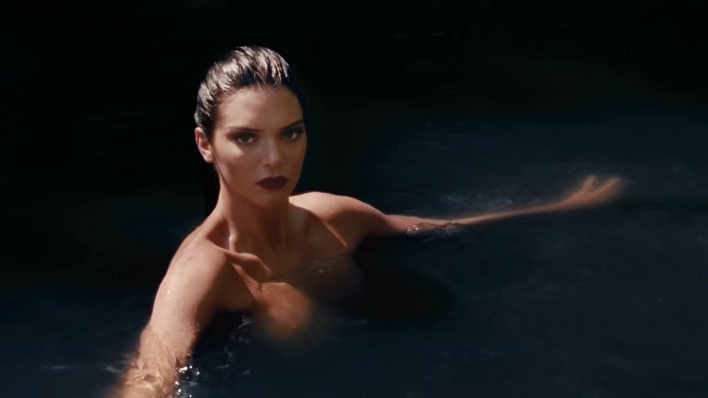 Kendall Jenner Topless (9 Pics + GIF & Video)
