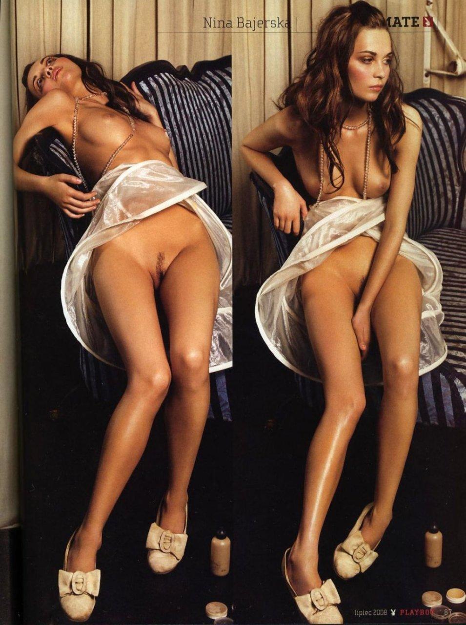 Nina Bajerska  nackt