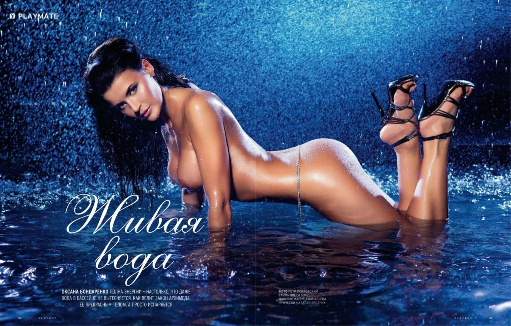 Oksana Bondarenko naked