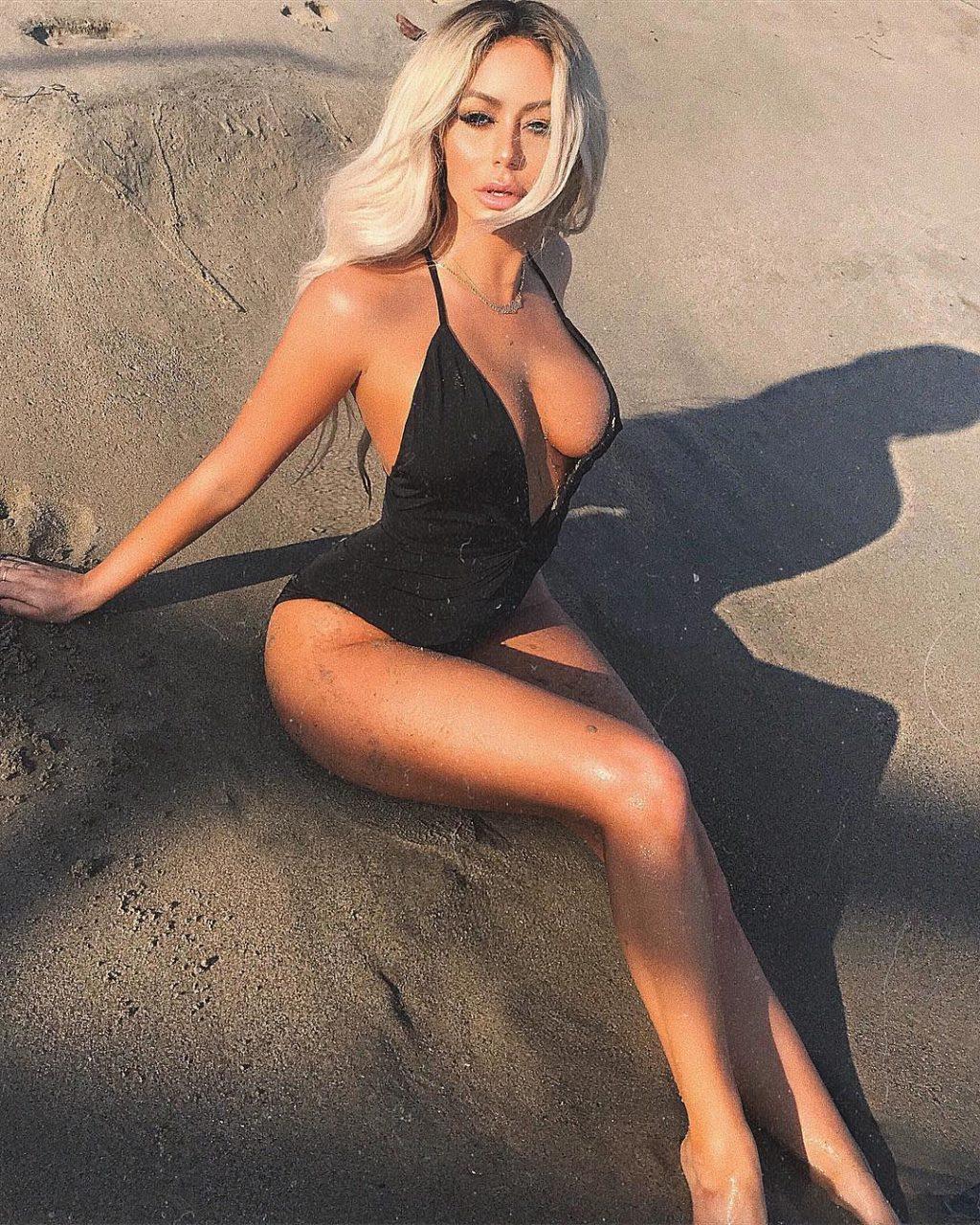 Aubrey O'Day See Through & Sexy (85 Photos)