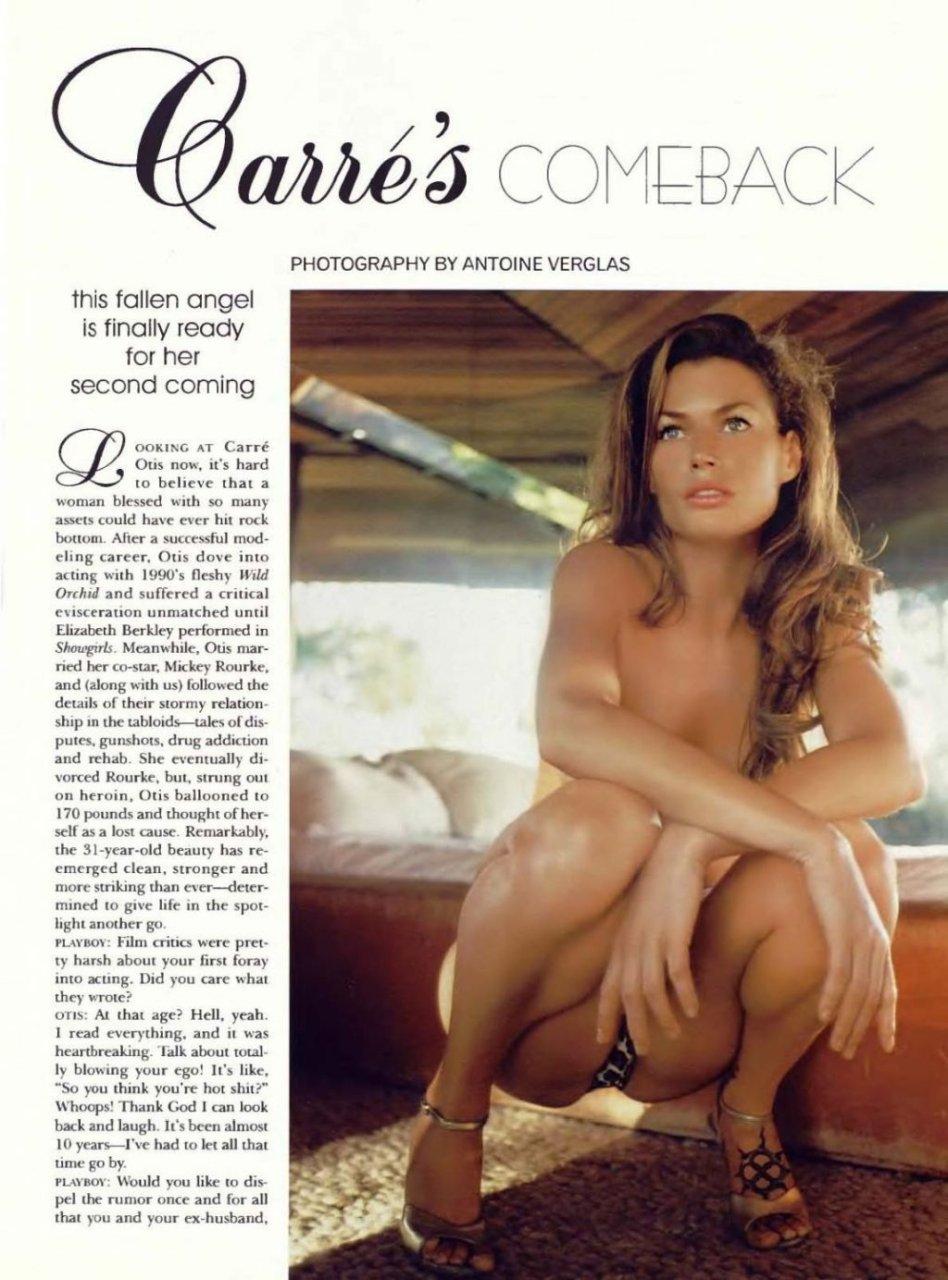 Carre Otis Nude (9 Photos)