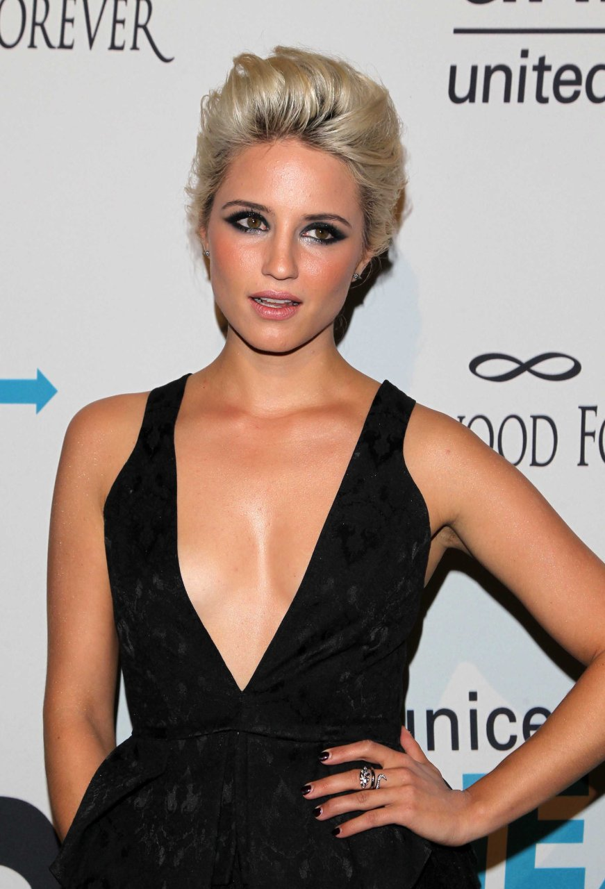 Dianna agron nude in bare
