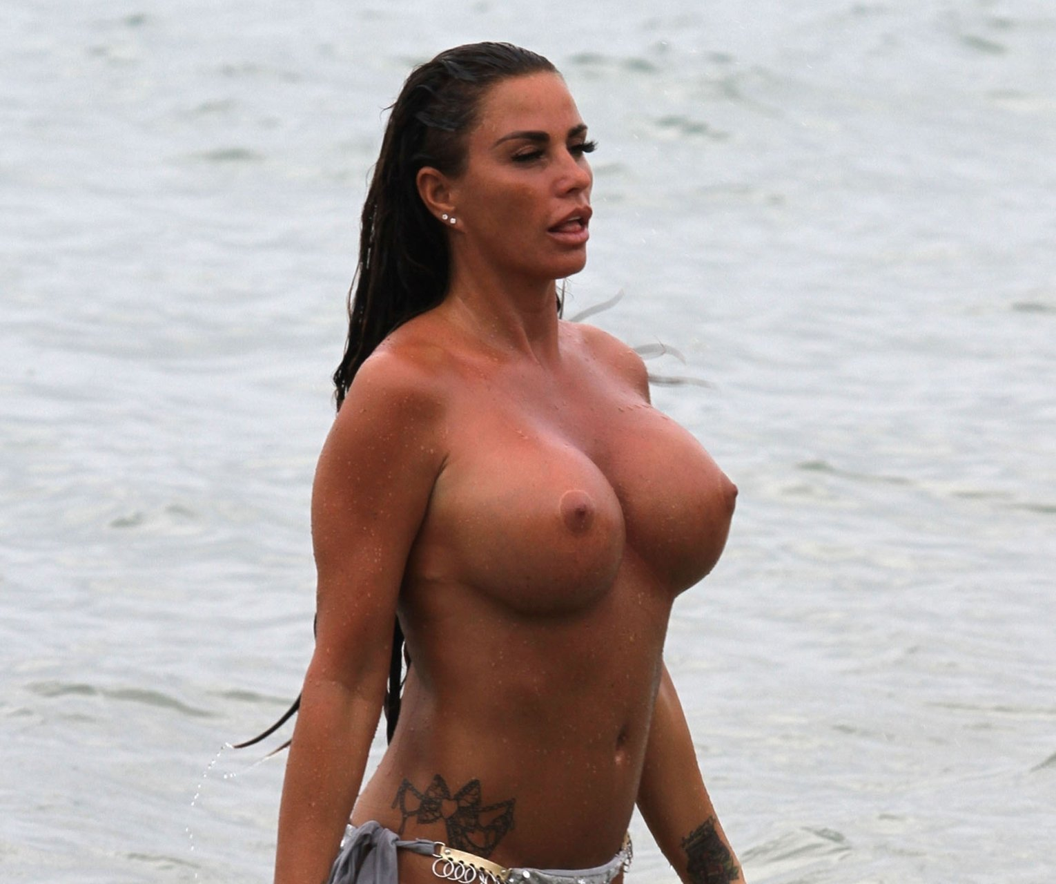 Katie Price Shares Naked Shower Photo After Walking For The First Time In Five Months Following Foot Operation