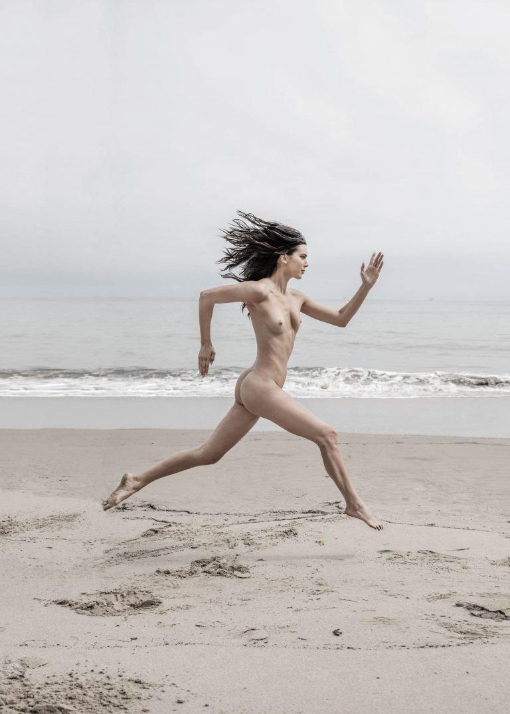 Kendall Jenner Nude Running