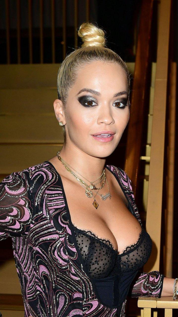 Rita Ora Fashion Shoot Photos: Rita Ora See Through (16 Photos)