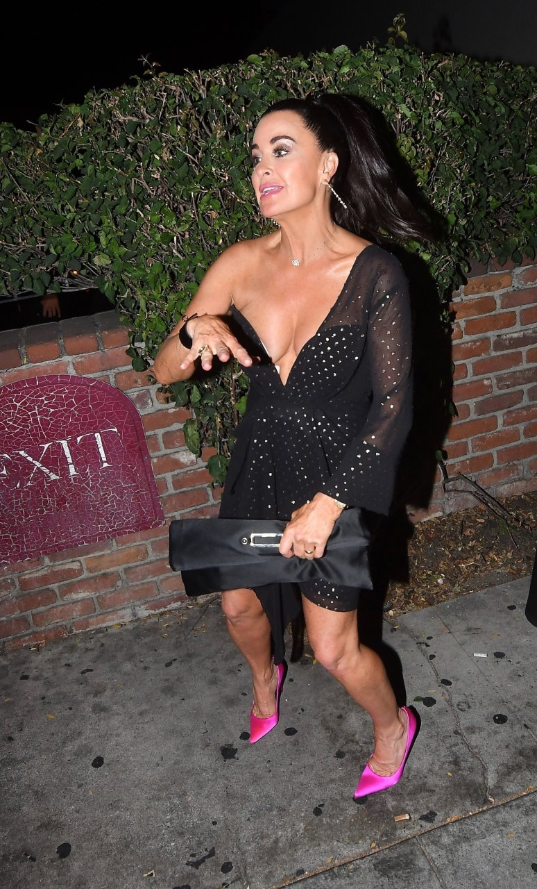 kyle richards tits